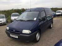 BARN FIND , FIAT SCUDO TURBO DIESEL ONLY 41000 MILES FROM NEW IN SUPERB CONDITION ORIGINAL MILES