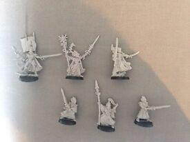 Assorted Warhammer 40K Eldar figures (asking price ONO)