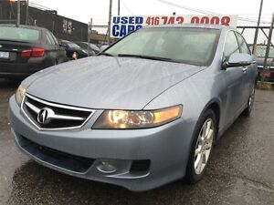 2008 Acura TSX w/TECH PKG,NAVIGATION,LEATHER,SUNROOF,LOW LOW KM,