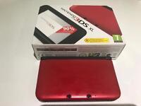 Nintendo 3DS XL red colour £200 O.N.O.