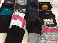Maternity clothes, 8-12 size