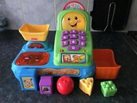 Fisher Price Laugh & Learn Scanning Till