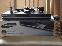 SAMSUNG 'DVD-360' DVD & CD Player. Complete with Remote, User Manual & SCART lead