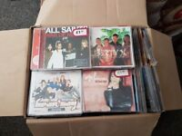 Job Lot Of SINGLE Cd's Over 300 (Original) Music From The 1990's Ideal For Car Boot.