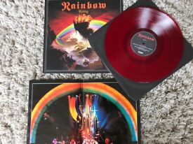Rainbow Rising Picture - LP and Tour Programme