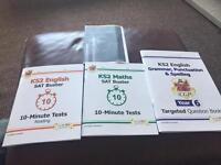 KS2 test and revision books