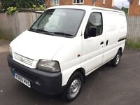2005 SUZUKI 1.3 CARRY VAN *FULL MOT* *REDUCED BY £1000* *RETIREMENT SALE* *JUST SERVICED*