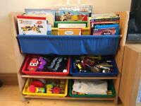 Bookcase for kids and toys storage