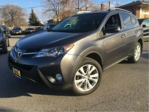 2013 Toyota RAV4 Limited AWD LEATHER NAV MOONROOF