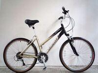 "(2187) 26"" 17"" Lightweight Aluminium SPECIALIZED HYBRID WOMEN MOUNTAIN BIKE BICYCLE Height:160-175cm"