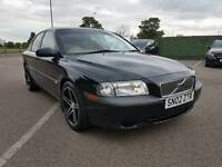Volvo S80 2.4 petrol automatic with long MOT