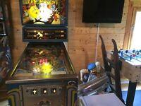 PacMan pinball machine in working order