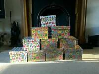 Christmass presents boxes