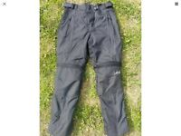 Ladies Motorcycle Trousers Size 8-10 38 Frank Thomas