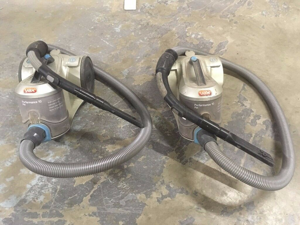 VAX performance hoovers x2