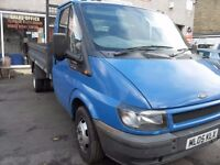 FORD TRANSIT TIPPER T350 2.4 DI (REDUCED)