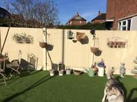 3x 5 ft fence panels