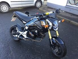 2015 Honda MSX 125 GROM 5K, Lots of extras, Mint condition.
