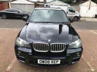 2008 BMW X5 3.0 30sd M Sport 7 Seater Automatic @07445775115 Twin Turbo+SAT NAV+ 6 Months Warranty