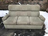 Sofa suite 3 seater + 2 seater - free delivery -