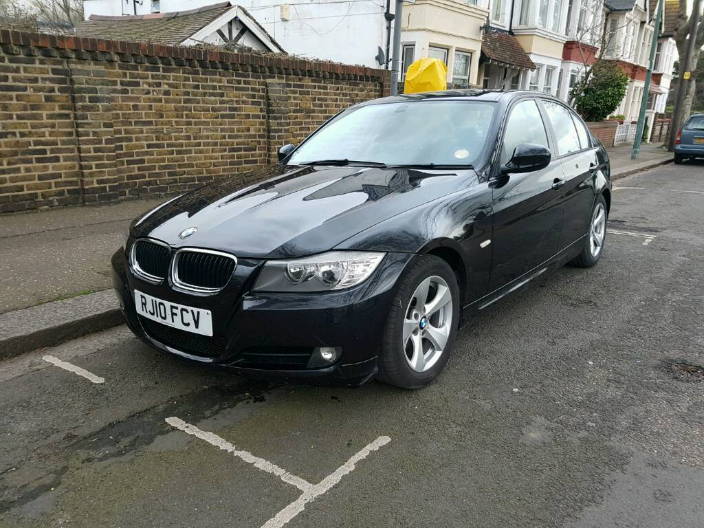 bmw 320d efficient dynamics black 2010 bargain in southend on sea essex gumtree. Black Bedroom Furniture Sets. Home Design Ideas