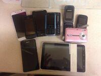 JOBLOT OF MOBILE PHONES(Spares or repair)