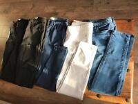 5 x jeans size 12