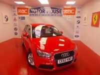 Audi A1 TDI SE(SAT NAV)(£0.00 ROAD TAX) FREE MOT'S AS LONG AS YOU OWN THE CAR!!! (red) 2012