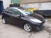 Great looking Ford FIESTA Zetec S TDCI,3 dr hatchback,runs and drives as new,£20 yr tax,only 47,000