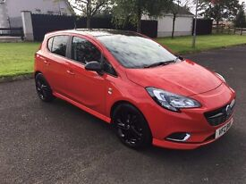 2015 VAUXHALL CORSA RED EDITION 1.4i 150PS TURBO START/STOP 5 DOOR