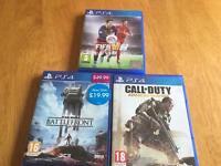3 PS4 Games