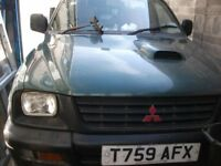 Mitsubishi L200 Single Cab Pick Up for Spares or Repair