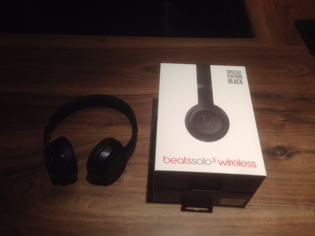 beats solo 3 wireless special edition black in plymouth