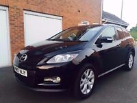 2008 57 Mazda CX-7 4x4 2.3 Turbo Petrol (260bhp MPS Engine) 12 Months MOT FSH++ not x5 ml xc90 rav4