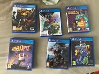 Bundle of PS4 games great condition !