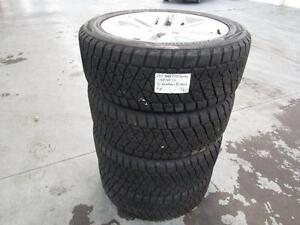 Ford F150 Harley 288/45/22 Bridgestone Blizzak Winter Tires On Factory Alloys 100% tread