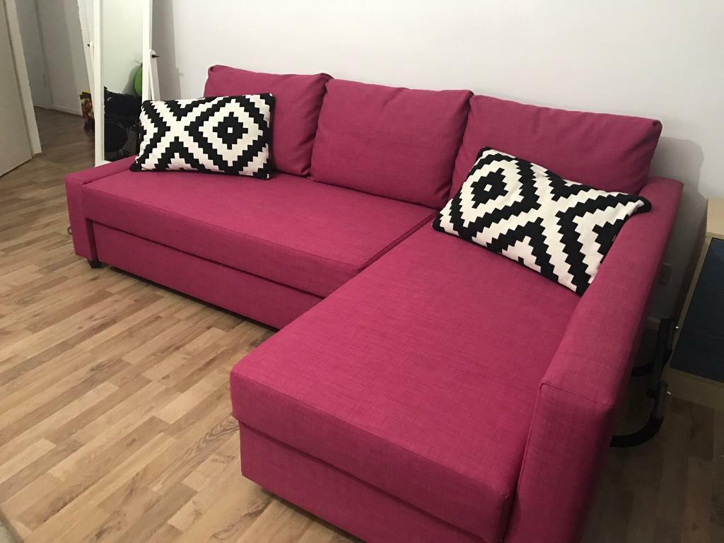 Ikea Corner Sofa Bed Friheten In Hammersmith London