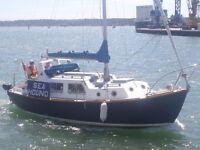 For Sale: Husky 24 Motor Sailor