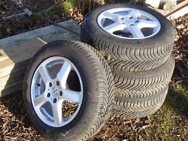 Michelin Cross Climate Tyres and Alloys Ford Focus
