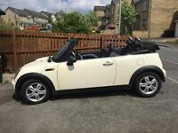 2006 56 MINI ONE 1.6 CONVERTIBLE ~ PEPPER WHITE ~ MAY PX