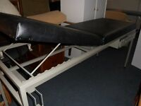 treatment/therapy bed with drawer