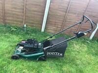 Hayter electric start mower