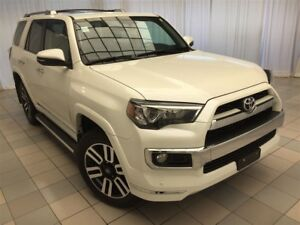 2017 Toyota 4Runner SR5: Accident Free, Leather, 4x4.