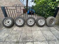 Ford Escort Mk 1/2 Rostyle wheels