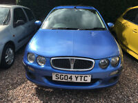 2004 ROVER 25 1.4L + STARTS & DRIVES + SPARES/REPAIRS +