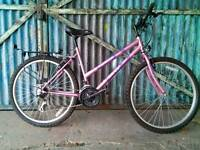 Ladies monsoon sky bike for town and country