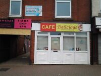 CAFE AND LADIES GYM FOR SALE