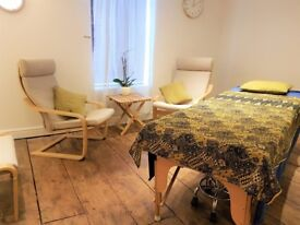 Therapy rooms for rent, ideal for Beauty, Massage, Counselling etc. in heart of Old Town, Swindon.