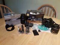 Nikon D5300, 18-55mm kit lens &Tamron 16-300mm Lens
