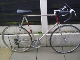 Gents road touring bicycle